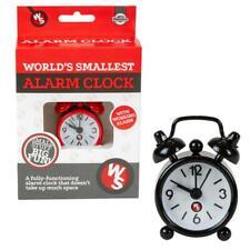 World's Smallest Réveil Nouveauté Drôle Cadeau Pleinement Opérationnel Tiny alarme