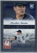 2014 Panini Elite Series Masahiro Tanaka Yankees Rookie #/999 MINT