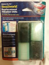 Penn Plax Small World Filter Unit Replacement Cartridge Tanks Air Pump 2 Pack