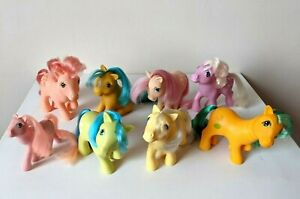 Vintage 80s Hasbro / G1 My Little Pony - Bundle / Joblot