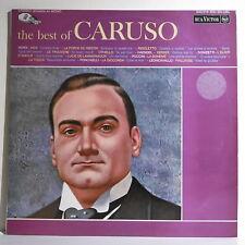 """33 tours CARUSO Disque Vinyle LP 12"""" THE BEST OF -RCA VICTOR 840516 Frais Reduit"""