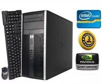 HP Gaming PC Desktop - NVIDIA GTX 1050 Ti, Intel Quad Core, SSD, 12GB RAM, Win10