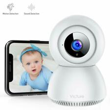 Victure 1080P Baby Monitor with Camera FHD WiFi IP Camera with Sound Detection