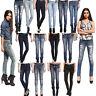 Anladia Womens Skinny Jeans Girls Ladies Slim Pencil Legging Denim Pants Trouser