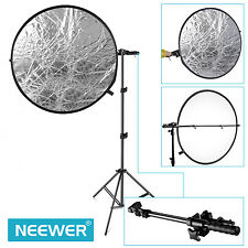 Neewer Extendable Telescoping Photo Studio Lighting Reflector Holder Boom Arm