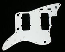 (B03) Custom Jazzmaster style Guitar Pickguard ,3ply White