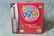 Dora the Explorer Super Star Adventures (NEW BOXED SEALED) GAMEBOY ADVANCE