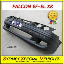 XR FRONT BUMPER BAR FOR EF EL XH FALCON XR6 XR8 BRAND NEW FITS SEDAN UTE & WAGON