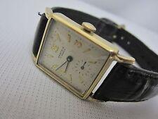 Vintage Nastrix 17 Jewels 14kt Yellow Gold Swiss Watch RARE HTF