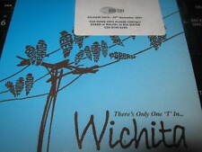 "WICHITA "" THERE'S ONLY ONE T IN.... "" PROMO CD SINGLE EXCELLENT 2007"