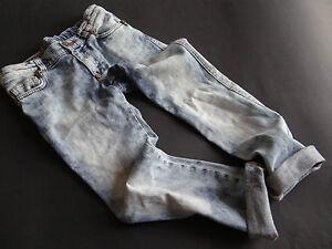 PHILIPP PLEIN Super coole stone washed Jeans Gr.8/128 w.NEU!
