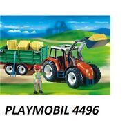 PLAYMOBIL® 4496 - Großer Traktor mit Anhänger  NEU / OVP Bauernhof Farm