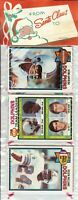 1979 Topps Football Holiday Christmas Rack Pack HOF Newsome Shell Campbell RC?C9