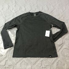 Cory Vines Men's Gray Onyx Active Long Sleeve T-Shirt Size Small Athletic Fit