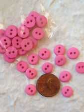 20 Buttons button Pink Rose Baby Girl Pollen Flower centers Valentine crafts