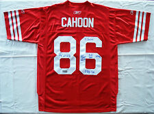 Ben Cahoon #86 * SIGNED * Montreal Alouettes Retro CFL Football Jersey