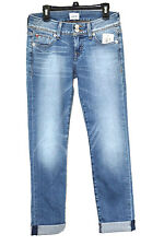 Hudson Jeans Cuffed Ankle Ginny Straight Jeans Hot Springs Size 24 MyAFC