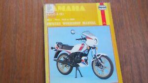 YAMAHA RD50 & 80 HAYNES MANUAL 1978-86