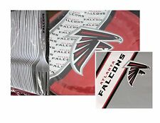 Atlanta Falcons Party Pack - 40 Paper Plates, 40 Napkins & 40 Plastic Forks