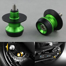 10mm Aluminium Swingarm Spools Sliders For Yamaha YZF750 1993 1994 1995 1996