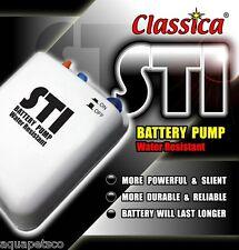 Classica ist batterie pompe à air aquarium fish tank airpump appâts vivants oxygène BP011