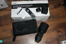 Sigma 150-600mm F5-6.3 DG OS HSM Sports Lens with TC-1401 Converter for Canon