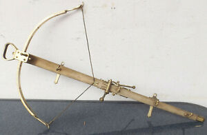 "Beautiful Wood/Brass Wardrobe "" Armbrustform "" Designer Part - Self Made"