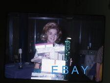 1960s Kodachrome Photo slide Teenage girl sweet 16 party with presents