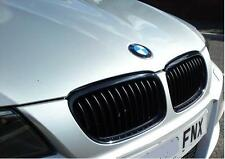 NEW GENUINE BMW 3 E90 E91 08-12 M PERFORMANCE BLACK KIDNEY GRILLE LEFT+RIGHT