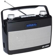 DAB+ Radio sky vision DAB 7 S | Kofferradio | Digitalradio | tragbar | B-Ware