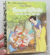 A Golden Book Walt Disneys Snow White And The Seven Dwarfs 1984 Vintage Children