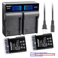 Kastar Battery LCD Rapid Charger for Nikon EN-EL14 Nikon Coolpix P7800 Camera