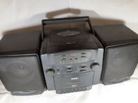 Vintage RCA CD Tape Player AM/FM Cassette Boombox RP-7979