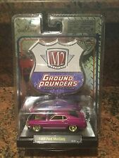 1969 Ford Mustang Chase Car M2 Machines 1:64 Ground Pounder