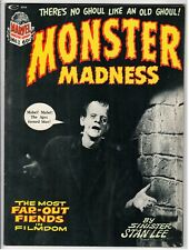 Marvel - MONSTER MADNESS #1 - VF 1972 Vintage Magazine