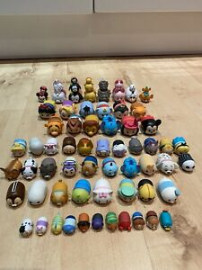🌟 70 X Disney Tsum Tsum Mini Figures Bundle
