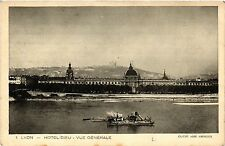 CPA LYON Hotel Dieu-Vue générale (442251)