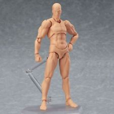 Male PVC Action Figma Archetype Figure Body Toy For Cartoon Drawing - S150