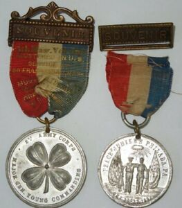 Spanish American War SAW Souvenir Peace Jubilee 2nd Army 5th Mass Infantry #43