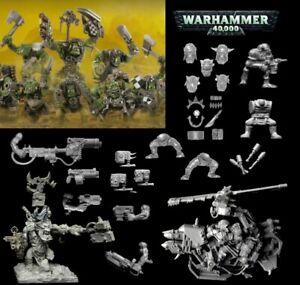 GAMES WORKSHOP Warhammer 40K SPACE ORKS Figures & Bitz FREE UK POSTAGE