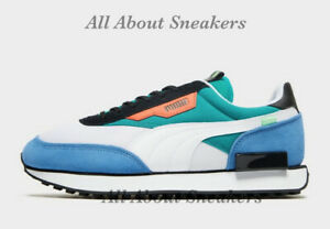 "Puma Future Rider Retro ""Blue, Green and"" Men's Trainers All Sizes Limited Stock"