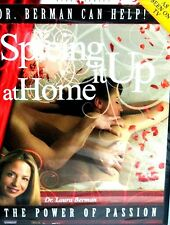 Spicing it up at Home,NEW DVD, Sex Passion, Learn How, Dr. Laura Berman ,Bedroom