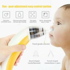 Electric Baby Nasal Aspirator Nose Cleaner Snot Sucker for Newborn Toddlers Kids