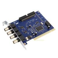 4CH CCTV DVR Security PCI Capture Card Digital Video Surveillance Record System