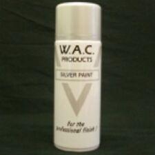 12 400ml Silver Acrylic Spray Paint 400ml Aerosol Can Free Post