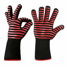 New listing 1Pc Microwave Oven High Temperature Bbq Baking Flame Retardant Gloves New