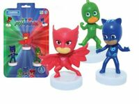 Official Licenced PJ Mask 3 Pack Action Figure TV Characters Rubber Stampers