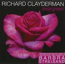 RICHARD CLAYDERMAN Evergreen CD BRAND NEW Tribute To Barbra Streisand