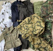 Lot Uniform 1/6 WWII 21st Century The Ultimate Soldier WWII German GI Joe Dragon