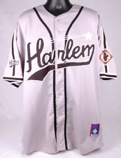 HARLEM Jersey-American League Baseball-2XL-Grey-Shirt-Number 15-Button-Big